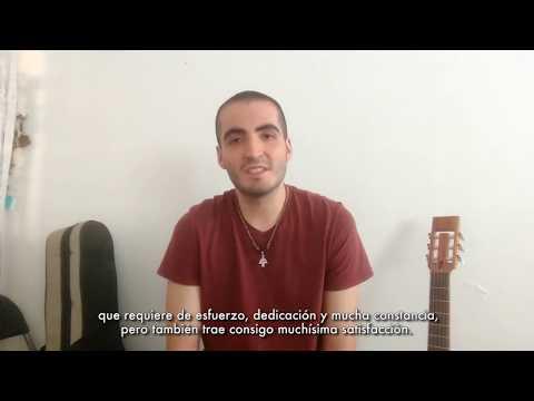 Jorge Sadallah. Alumno de la Escuela Superior de Música