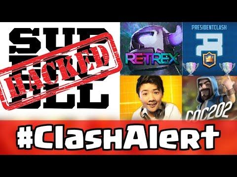 President Clash Vs CoC 202 #ClashAlert Supercell FORUM HACK! - ShredderFTW - TheRetrex - SoC