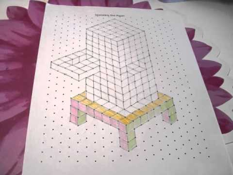 Beautiful I Love Isometric Dot Paper