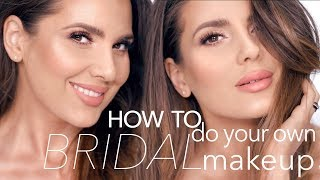 HOW TO DO YOUR OWN BRIDAL MAKEUP | ALI ANDREEA