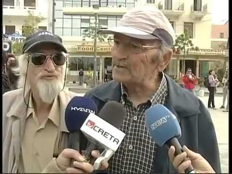 Grandpa decided to disrupt the interview