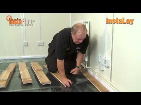Instalay 3 Peel Stick Underlay Wood Flooring Demo