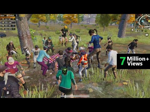 [Hindi] Birthday Party Celebration In PUBG & Funny Party Destruction
