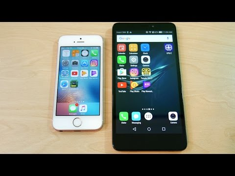 IPhone SE Vs Huawei Ascend XT -Speed Test