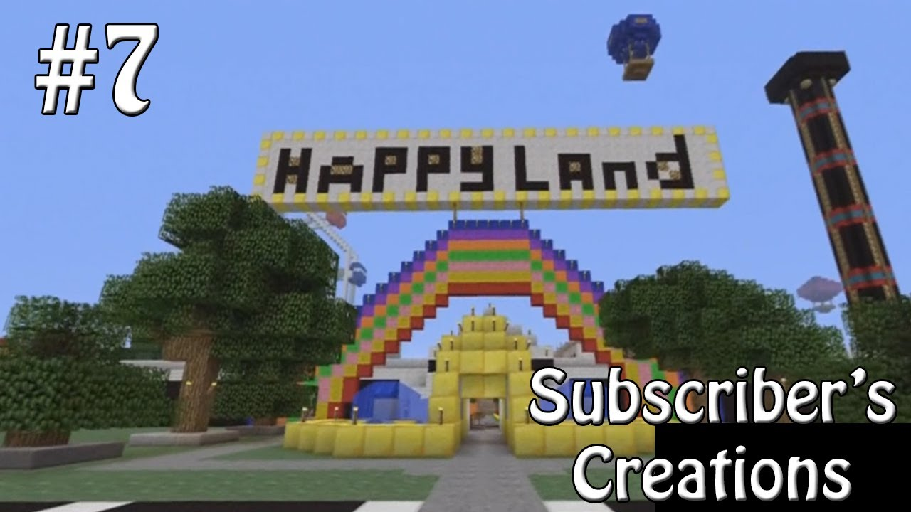 How To Build Amusement Park Rides In Minecraft