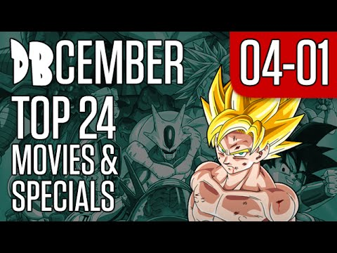 DBcember: Top 24 Movies and Specials: 04-01