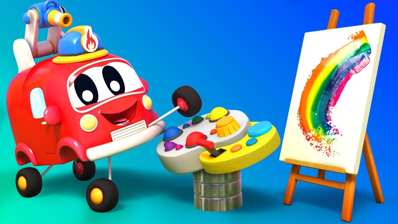 Baby Trucks - Learn COLORS with BABY CARS | Go Go Babies | Car City World App