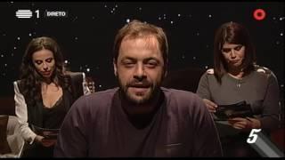 """António Zambujo: """"F******"""" - 5 Para a Meia Noite - RTP"""