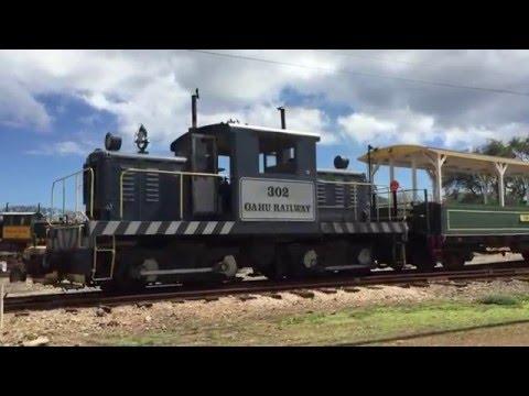Railfanning Hawaiian Railway in Oahu HI