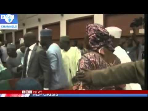 Nigerian politicians trade blows in Abuja