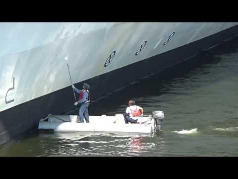 Celebrity Eclipse in Stockholm Sweden behind Serenade of the Seas