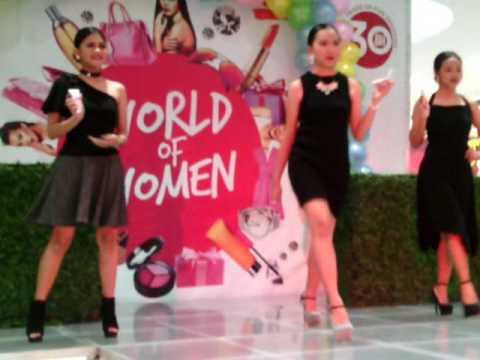 World Of Women Fashion Show SM City San Mateo Part 1