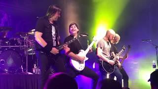 Trivium, with Jared Dines, brings fan on stage - Spokane 2018
