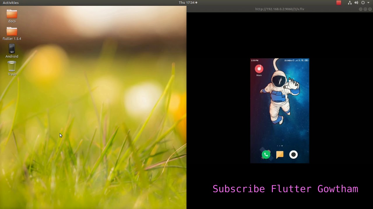 Create & Run Flutter Application using Android Studio