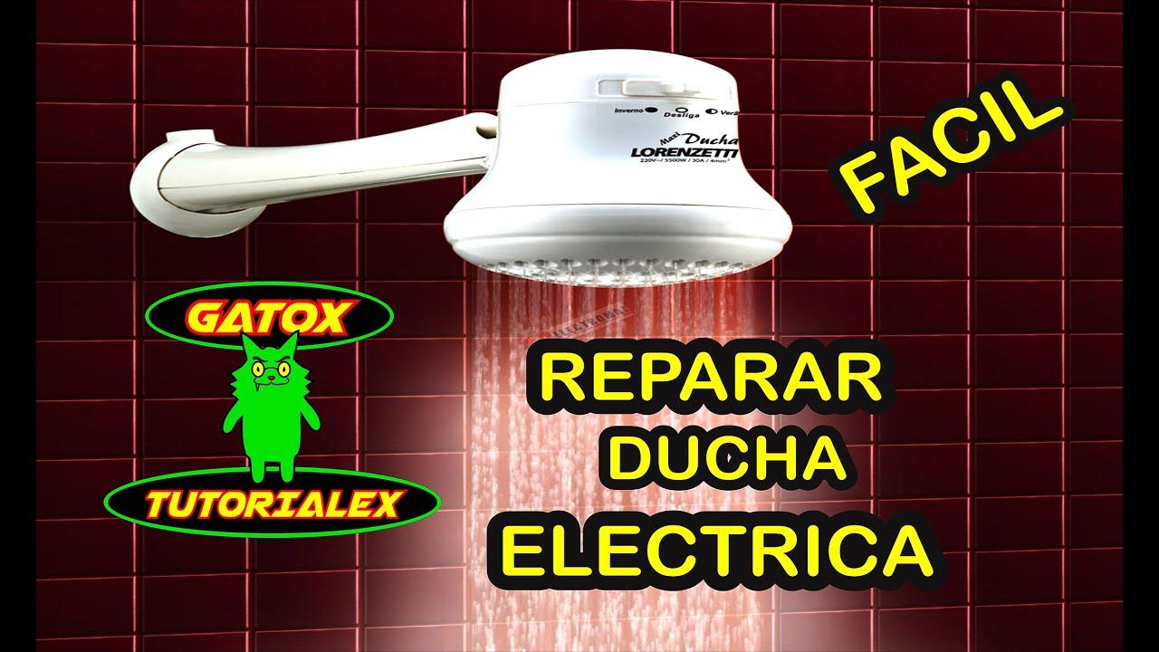Reparar ducha electrica practico y facil youtube for Como arreglar una ducha