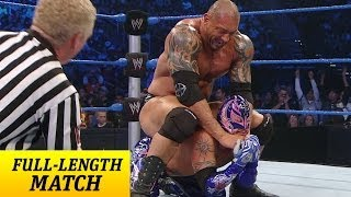 FULL-LENGTH MATCH - SmackDown - Rey Mysterio vs. Batista - Street Fight thumbnail