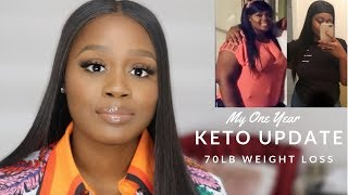 1+ Year Keto Update! | 70 lb Weight Loss | Long Term Benefits | Keto Tips