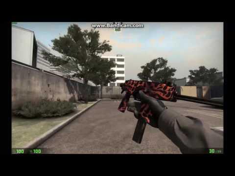 MP9 Ruby Poison Dart Minimal Wear Showcase CSGO