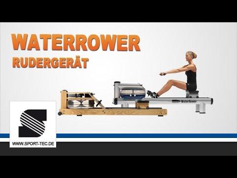 WaterRower Rudergerät - Rudern im Wohnzimmer - YouTube