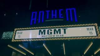 Little Dark Age Tour - MGMT - The Anthem - March 15, 2018 - Wash, D.C.