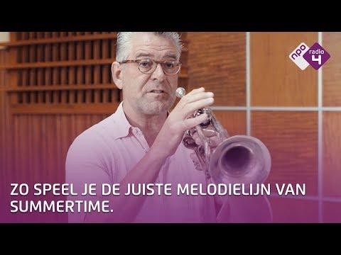 Trompet spelen - De juiste melodie van Summertime spelen