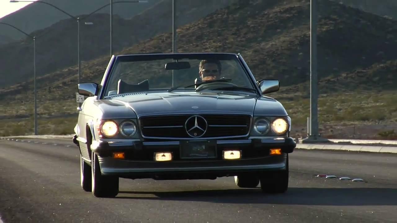 1978 mercedes benz 450sl test drive viva las vegas autos for 1978 mercedes benz 450sl
