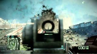Battlefield: Bad Company 2 - Port Valdez Demo Gameplay (HD)