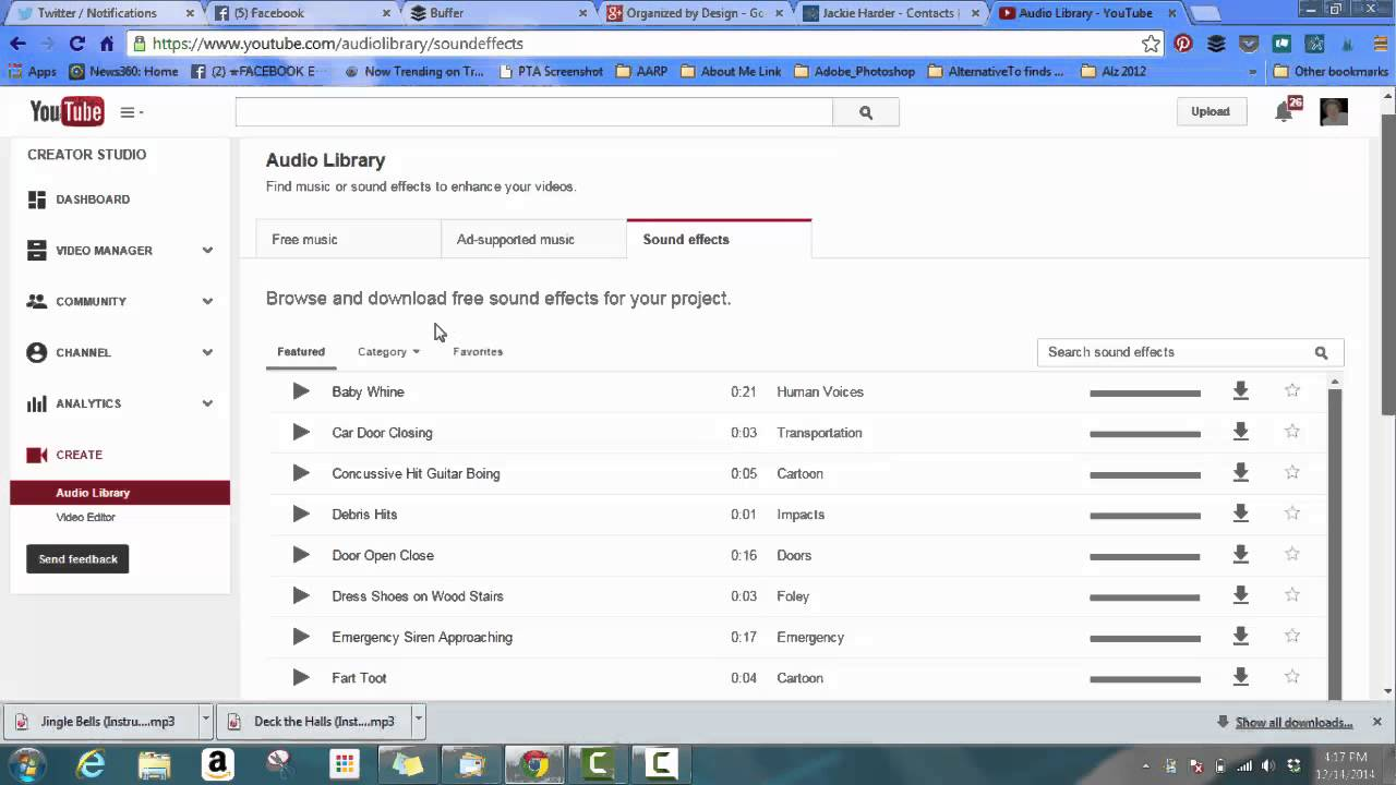 how-to-use-youtube-audio-library