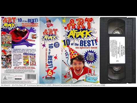 Art Attack - 10 of the Best [VHS] (1998)