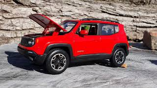 Video for Kids 118 Jeep Renegade Diecast Review Of 2019 Willys Jeep 4x4 Capable SUV