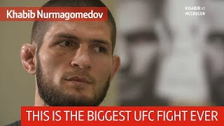 Khabib: I'll slap Conor McGregor while talking to Dana White through the cage