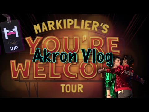 I Went To Markiplier's You're Welcome Tour In Akron!
