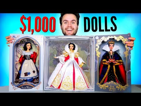 I spent $1000 on Snow White Dolls... - Disney Limited Edition Doll Review