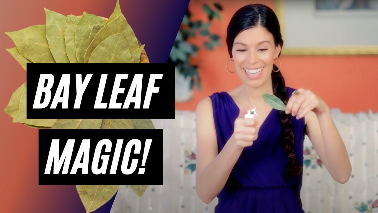 Bay Leaf Burning Is Amazing!