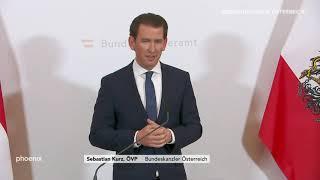 Pressekonferenz von Sebastian Kurz am 18.05.19