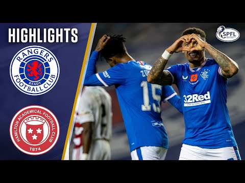 Rangers Hamilton Goals And Highlights