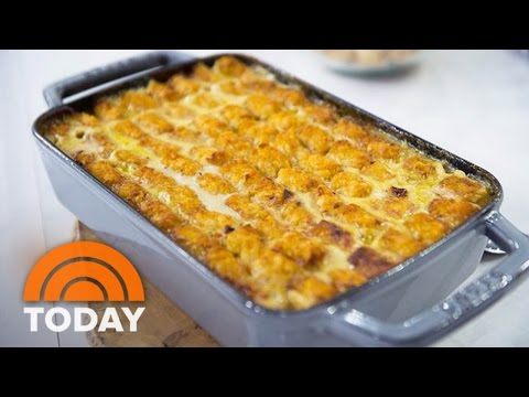 Tater Tot Chicken Pot Pie Molly Yeh s Delicious Recipe TODAY