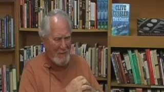 interview with suspense author clive cussler