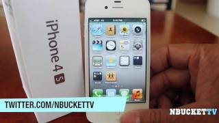 iPhone 4S 64GB (Official Review)(NBucketTV got the new White iPhone 4S 64GB model. So here is just a quick overview of what this phone has to offer. Leave a comment let me know what you ..., 2011-10-17T07:17:09.000Z)