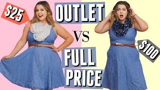 What $100 Gets You at Outlet Stores vs. Retail Stores