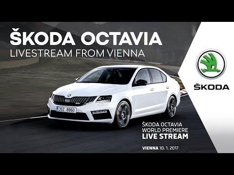 Weltpremiere des SKODA OCTAVIA und SKODA OCTAVIA RS live im Internet