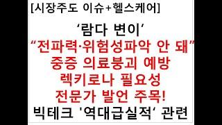 """[시장주도 이슈+헬스케어]'람다 변이' """"전파력·위험성…"""