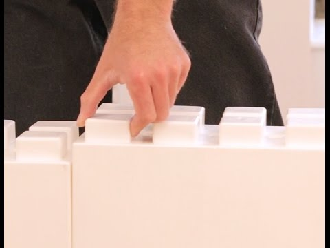 Everblock Modular Wall System Building A Divider Wall