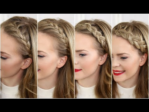Four Headband Braids | Missy Sue