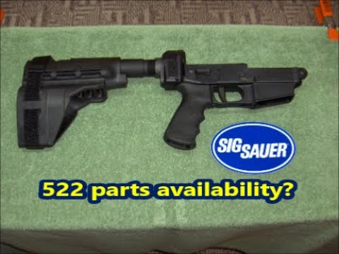 Sig Sauer 522 Parts Availability Youtube