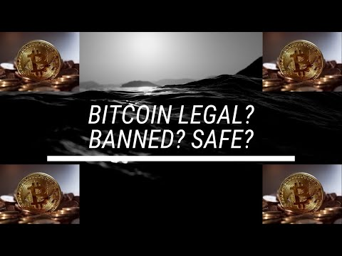 Is Bitcoin Legal? Can Bitcoin Be Banned? Is Bitcoin Safe? #bitcoin #blockchain #cryptocurrency