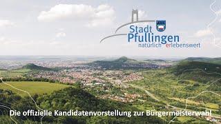 Offizielle Vorstellung der Kandidaten der Stadt Pfullingen zur Bürgermeisterwahl