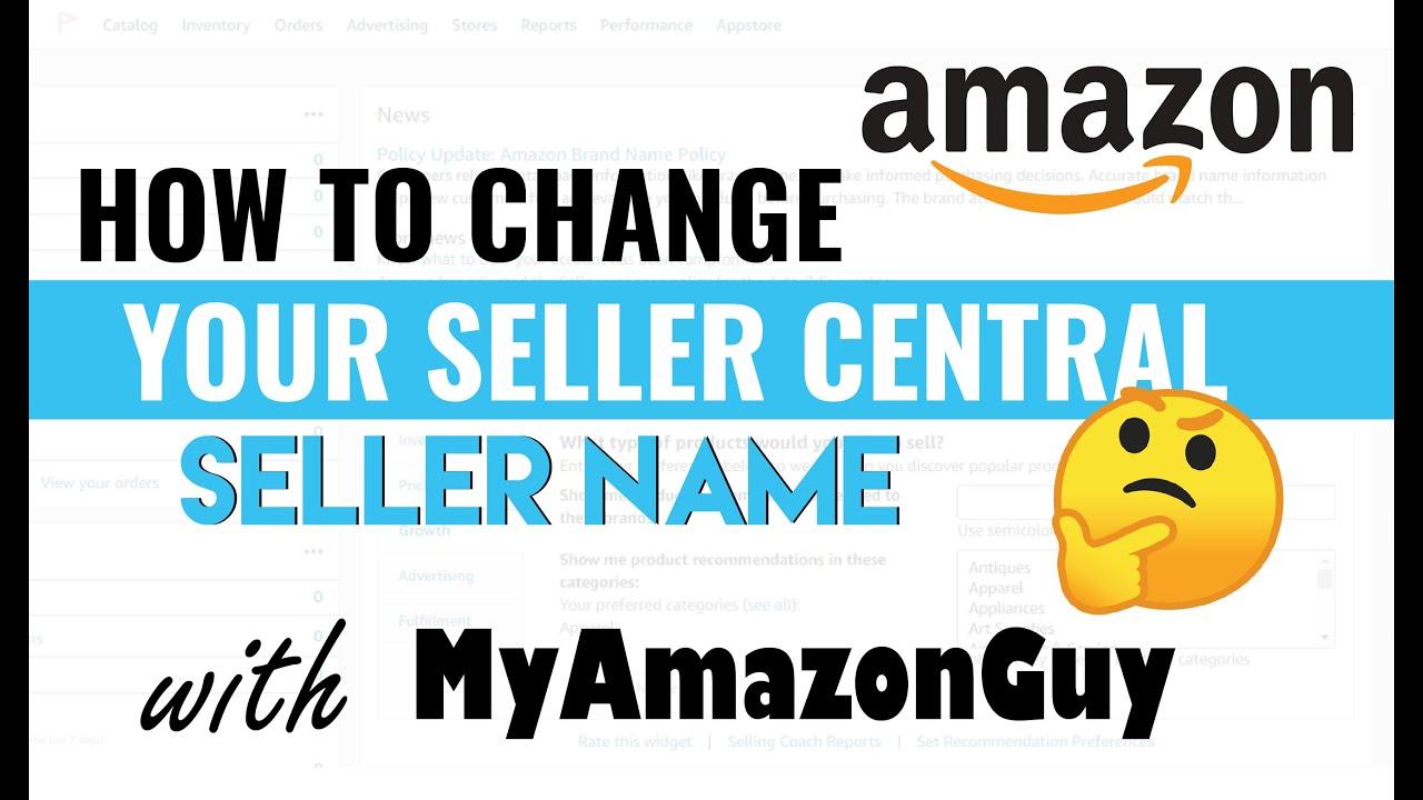 amazon seller center