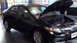 Gambar cover 2012 Honda Civic EX Sedan  Video Demo from Voss Honda. 155 S