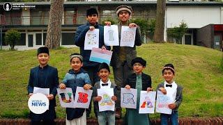 Young Children from Netherlands Send Eid Mubarak Wishes